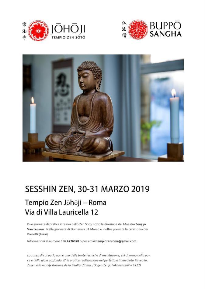 sesshin marzo 2019